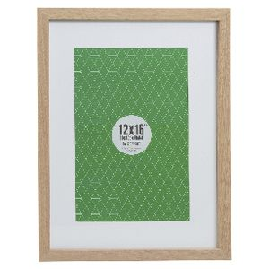 Promenade Frame 12 X 16 With 8 X 12 Opening Oak Officeworks