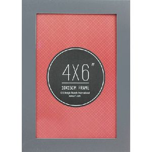 "Lifestyle Brands Metropole Frame 4 x 6"" Silver 5 Pack"