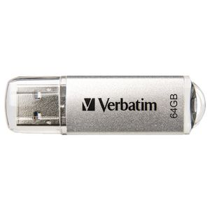 Verbatim Store n Go USB 3.0 Flash Drive 64GB Platinum