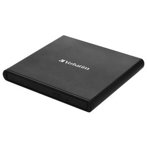 Verbatim External Slimline CD/DVD Writer Black