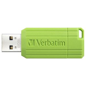 Verbatim 16GB Store'n'Go Pinstripe USB Flash Drive Green