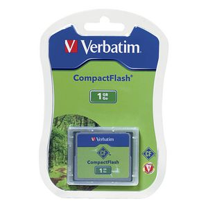 Verbatim 1GB CompactFlash Memory Card