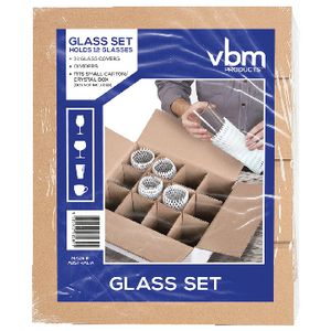 Visy Glass Packing Set 12 Pack