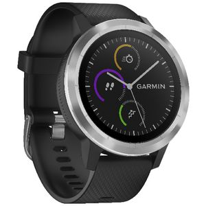 Garmin Vivoactive 3 Smart Watch Silicone Black