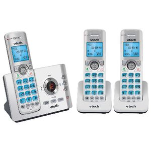 VTech Cordless Phone Plus 2 Handsets 17550