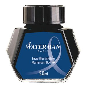 Waterman Bottled Ink Mysterious Blue 50 mL