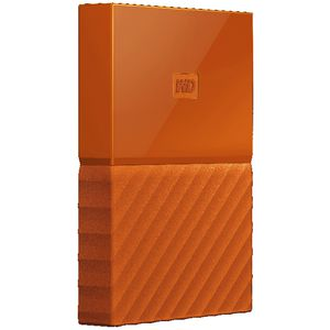 WD My Passport 1TB Portable Hard Drive Orange