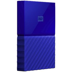 WD 2TB My Passport Portable Hard Drive Blue