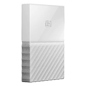 WD 2TB My Passport Portable Hard Drive White