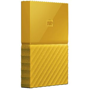 WD 2TB My Passport Portable Hard Drive Yellow