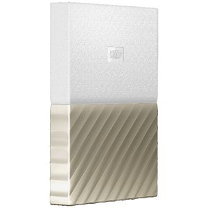 WD 1TB My Passport Ultra Hard Drive White/Gold