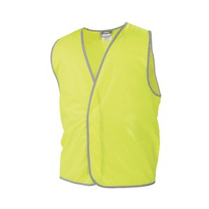 Workhorse Hi-Vis Safety Vest Day Yellow XXXXL