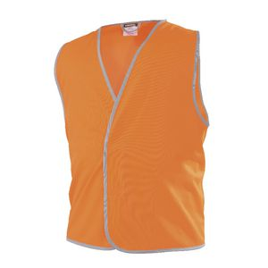 Workhorse Hi-Vis Safety Vest Day Orange XXXL