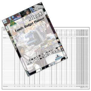 Wildon 302W Family Budget Planner