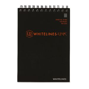 Whitelines A6 Notepad 8mm Ruled 140 Page
