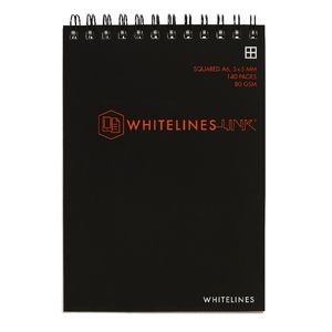 Whitelines A6 Notepad 5mm Square 140 Page