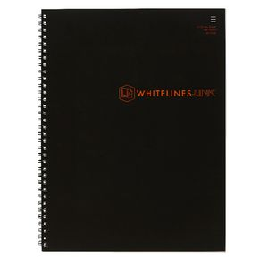 Whitelines A4 Notebook 8mm Ruled 140 Page