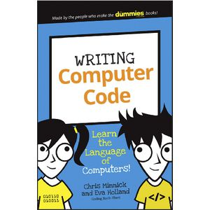 Writing Computer Code for Dummies Junior Book