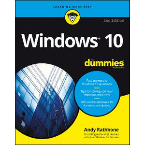 Windows 10 For Dummies 2nd Edition