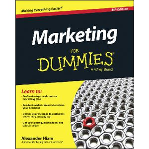 Marketing For Dummies Book