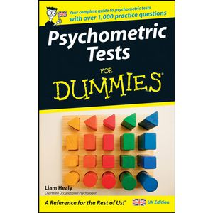Psychometric Testing For Dummies Book
