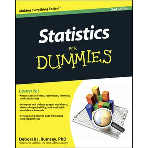 Statistics For Dummies Book