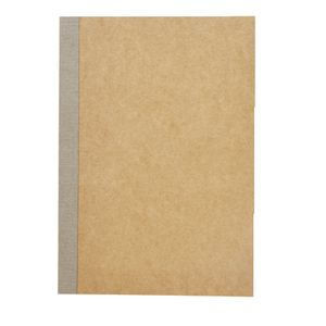 X B6 Kraft Ruled Notebook 60 Page