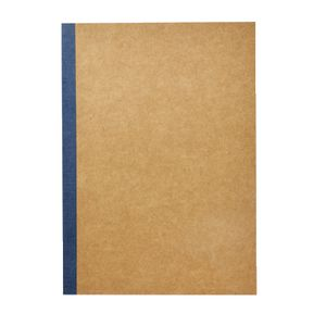 X B5 Kraft Grid Notebook 60 Page