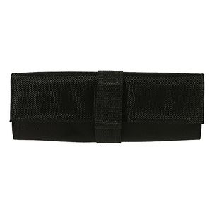 X PET Recycled Rollup Pencil Case Black