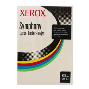 Fuji Xerox Symphony Pastel Tints Paper 80gsm A4 Ivory