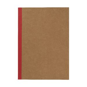 X A4 Plain Notebook 60 Page Kraft