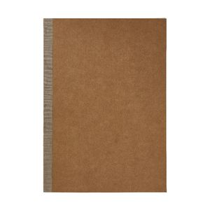 X A4 Ruled Notebook 60 Page Kraft