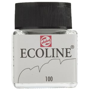 Ecoline Liquid Watercolour Paint 30mL White