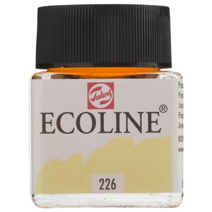 Ecoline Liquid Watercolour Paint 30mL Pastel Yellow