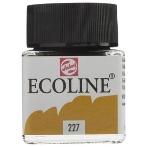 Ecoline Liquid Watercolour Paint 30mL Yellow Ochre