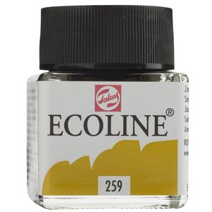 Ecoline Liquid Watercolour Paint 30mL Sand Yellow
