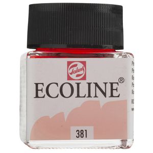 Ecoline Liquid Watercolour Paint 30mL Pastel Red