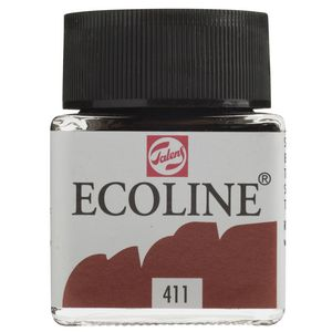 Ecoline Liquid Watercolour Paint 30mL Burnt Sienna