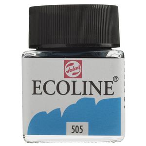 Ecoline Liquid Watercolour Paint 30mL Ultramarine Light