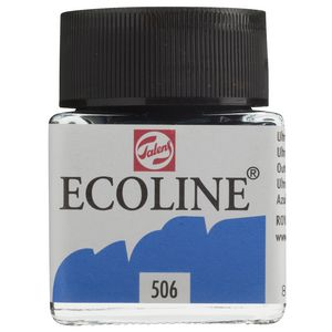 Ecoline Liquid Watercolour Paint 30mL Ultramarine Deep