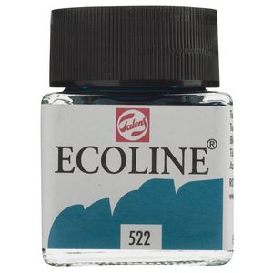 Ecoline Liquid Watercolour Paint 30mL Turquoise Blue