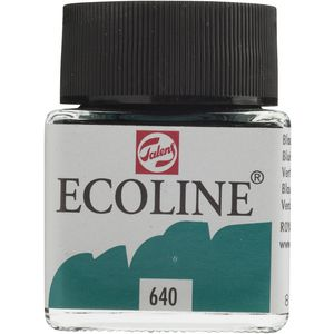 Ecoline Liquid Watercolour Paint 30mL Blue Green