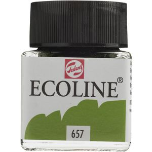 Ecoline Liquid Watercolour Paint 30mL Bronze Green