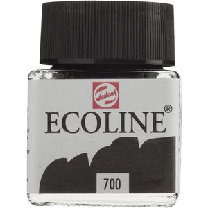 Ecoline Liquid Watercolour Paint 30mL Black