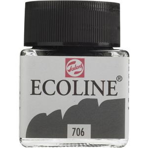 Ecoline Liquid Watercolour Paint 30mL Deep Grey