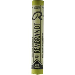 Rembrandt Soft Pastel Yellow Green 5