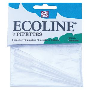 Ecoline Pipettes 3 Pack