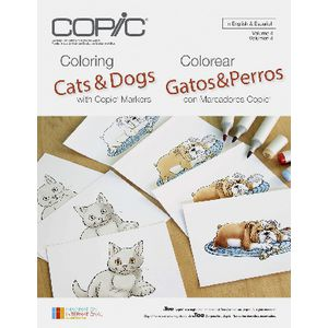 Copic Colouring Book Cats and Dogs