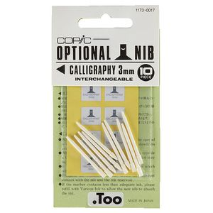 Copic Classic Marker Calligraphy Nibs 3mm 10 Pack