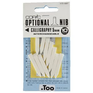 Copic Classic Marker Calligraphy Nibs 5mm 10 Pack